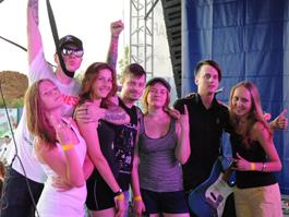 Как проводили время участники фестиваля «Свежий воздух» в Ижевске