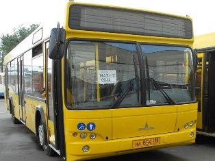 25 новых автобусов пришли в Ижевск на смену
