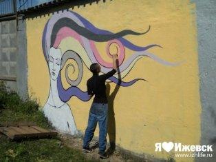 Второй граффити-фестиваль «Outline Jam 2012» пройдет в Ижевске