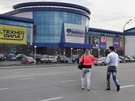 Пешеходный переход у «Флагмана» появится в Ижевске к концу сентября