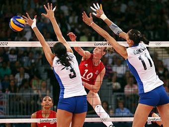 Олимпиада-2012: российские волейболистки обыграли британок