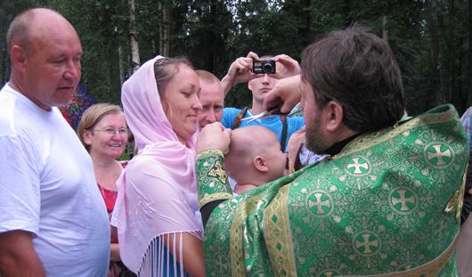 Священники отказались крестить ижевчан в парке Космонавтов