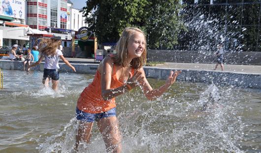 На этой неделе в Ижевск вновь придет 30-градусная жара
