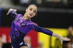 Российская гимнастка Алия Мустафина завоевала золото на Олимпиаде-2012