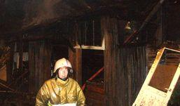 Пожарные Удмуртии спасли из огня трех  человек
