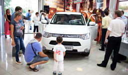 В Ижевске представили новый Mitsubishi Outlander третьего поколения