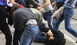 В Перми 50 человек подрались из-за двух девушек