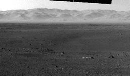 Марсоход Curiosity запечатлел загадочный объект
