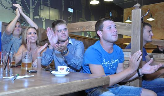 Друзья Сергея Большакова до последней минуты верили, что он выиграет золото