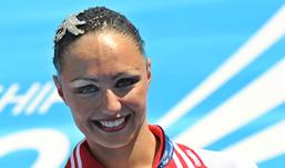 Давыдова понесет флаг России на церемонии закрытия Игр-2012