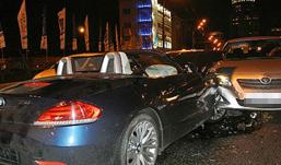 Cвященник, крестивший дочь Киркорова, устроил аварию на спорткаре BMW