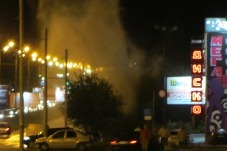 Новое коммунальное ЧП в Ижевске: фонтаны возле ТЦ «Омега» локализованы