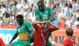 Сборная России по футболу сыграла вничью с Кот-д'Ивуаром
