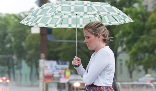 Дожди в Ижевске продлятся всю неделю