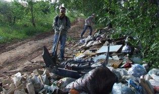Из Ярушкинского парка вывезено пять «кубов» мусора