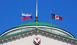 Самый дорогой флаг в Ижевске стоит 2500 рублей