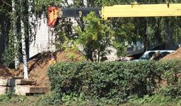 Очередной порыв в Ижевске произошел во время обследования магистрального трубопровода
