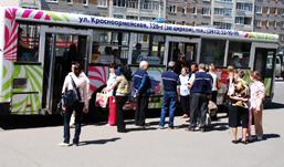 За полгода транспорт Удмуртии перевез 83 миллиона пассажиров