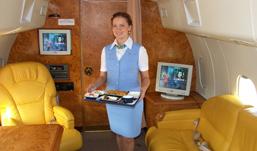 Деликатесы и шампанское будут подавать ижевчанам в самолете до Москвы