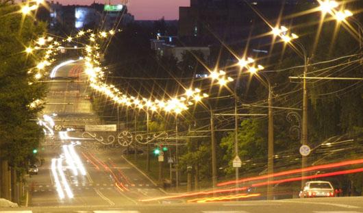 Фонари на улицах Ижевска будут включать с «дистанционного пульта»