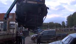 В Удмуртии водитель без прав погиб, перевернувшись на «оде»