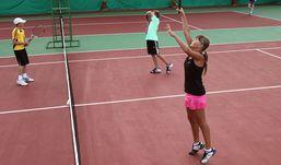 Пять теннисных кортов с итальянским покрытием появились в Ижевске