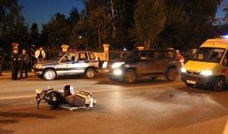 Мотоциклиста, который сбил ребенка в Ижевске, оставили под стражей