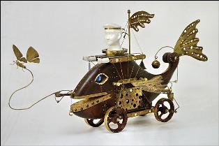 Кинетические объекты, механические картины и движущиеся модели покажут ижевчанам