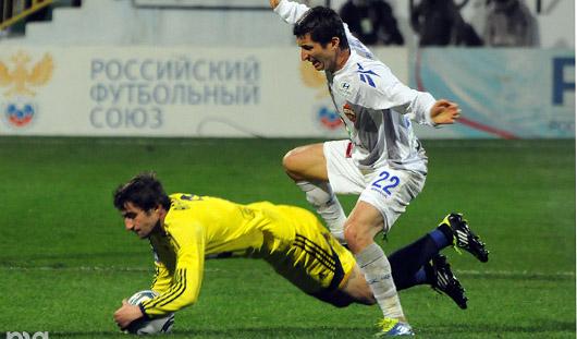 Российский футбольный клуб «Анжи» вышел в групповой этап Лиги Европы