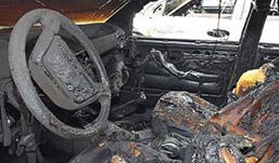 Автомобиль Nexia загорелся в Ижевске