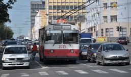 Транспортный коллапс в Ижевске: автотранспорт встал