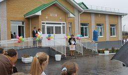 В селе Грахово состоялось открытие нового спортивного корпуса средней школы