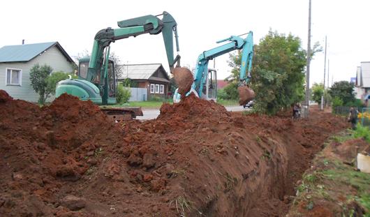 «ИжВодопроводСтрой» дает 2-летнюю гарантию на проведение водопровода и канализации
