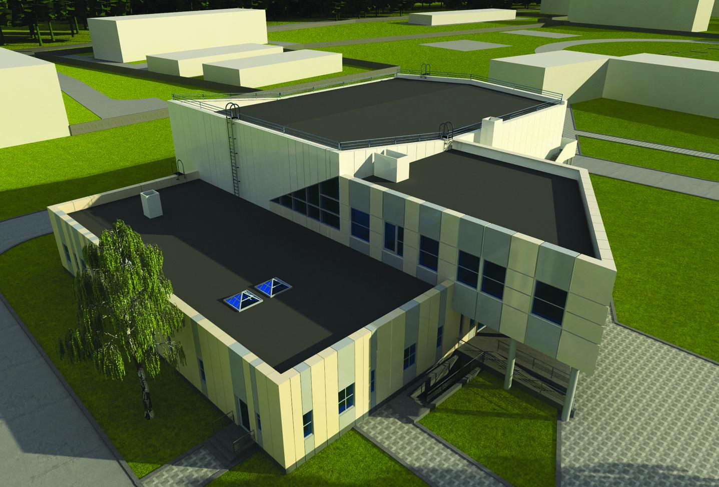 Строительство двухэтажного спорткомплекса с бассейном продолжается в ижевском вузе