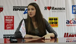 Татьяна Зыкина привезла полугодовалого сына в Ижевск