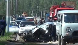 Водитель «Нексии» разбился на автодороге Ижевск – аэропорт