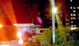 «Скорая помощь» и пассажирский автобус столкнулись в Ижевске