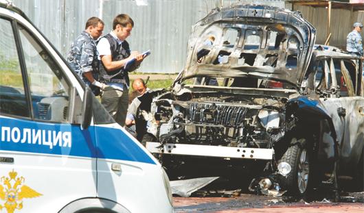 В Ижевске разыскивали террористов, покушавшихся на муфтия из Татарстана.