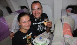 Молодоженам из Ижевска порвали билеты в аэропорту