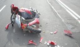 В Удмуртии водитель иномарки сбил девушку-скутериста