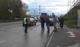 В Ижевске на Воткинском шоссе сбили двух пешеходов