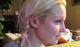 Балерина Анастасия Волочкова показала лицо без макияжа