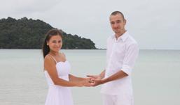 Ижевчане Юля и Вячеслав женились на «необитаемом» острове