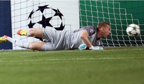 В первом туре Лиги чемпионов «Зенит» проиграл клубу «Малага» из Испании