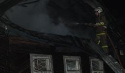 Жилой дом сгорел в Ижевске