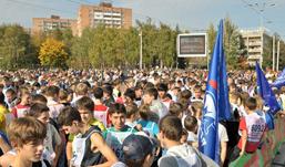 «Кросс наций-2012» в Ижевске: на старт вышли более 7500 человек