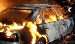 Два автомобиля столкнулись в Удмуртии и загорелись