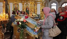 Чудотворную икону Матроны впервые привезли в Ижевск