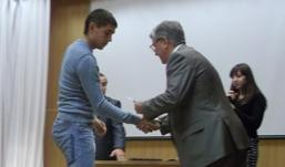 Знаменитый биатлонист встретился с первокурсниками нового спортивного факультета в Ижевске