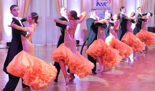 За Кубок Президента УР поборолись 500 танцевальных пар со всей России
